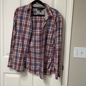 Banana Republic flannel